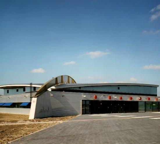 Moen & van Oosten - Brandweerkazerne Polderbaan Schiphol